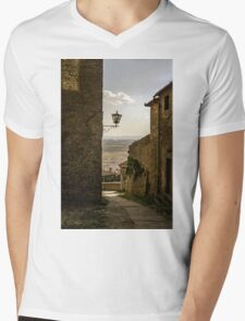 Cortona, Tuscany Mens V-Neck T-Shirt