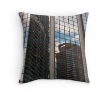 Glass City 3 Throw Pillow