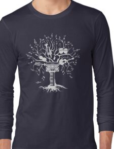 Melody Tree - Light Silhouette Long Sleeve T-Shirt