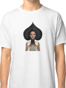 Queen of spades portrait Classic T-Shirt