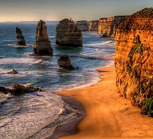 Icons - The Twelve Apostles, The Great Ocean Road - The HDR Experience by Philip Johnson