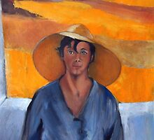 The Straw Hat - after Nikolaos Lytras by Kostas Koutsoukanidis