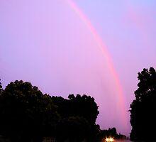 Spring Evening Rainbow by NatureGreeting Cards ©ccwri