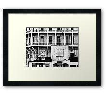 Signs of Alcatraz Framed Print