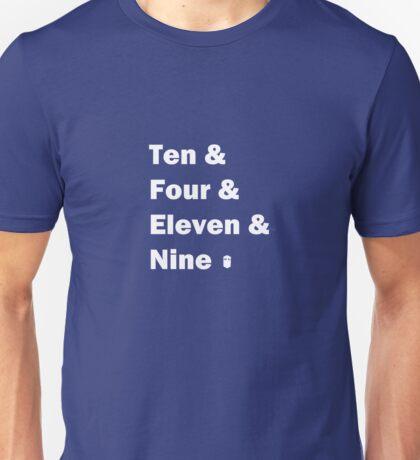 Ten and ... White T-Shirt