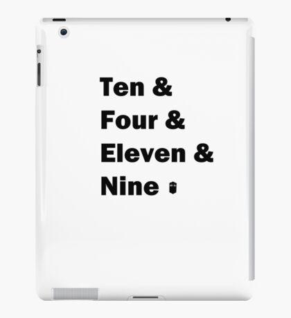 Ten and .... iPad Case/Skin