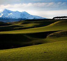 Mt Ruapehu by SteveJSharp