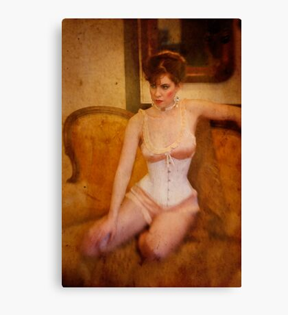 ~ in the boudoir ~ Canvas Print