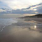 Shining Sunset Manning Point NSW by Catherine Davis