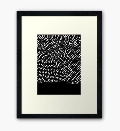 Ink Brush #2 Framed Print