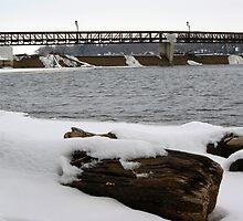 Sinnissippi Dam by Richard Williams