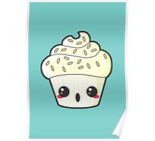 Spooky Cupcake - Ghost Poster
