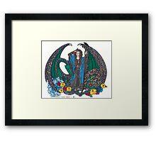 Queen of Wands Framed Print