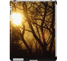 Golden Sunset in the Trees iPad Case/Skin