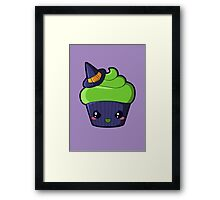 Spooky Cupcake - Wicked Witch Framed Print