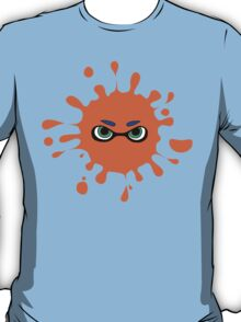 Splatoon - Ink Splat Inkling Eyes T-Shirt