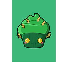 Spooky Cupcake - Swamp Thing Photographic Print