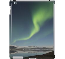 Iceland Northern Lights Wave iPad Case/Skin
