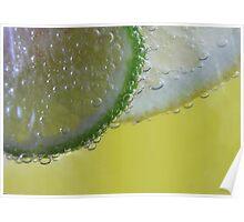 Lemon and Lime Twist Poster