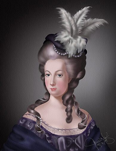 A Tribute to Marie Antoinette by Carmel Vilchez