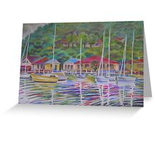 A View Over Koolewong Wharf From Koolewong Park, Australia Greeting Card