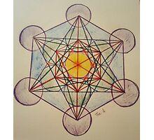 Metatron's Cube - Colored Photographic Print