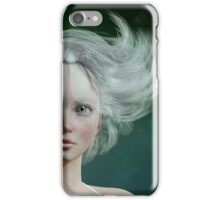 White Faun - mystery fairy iPhone Case/Skin