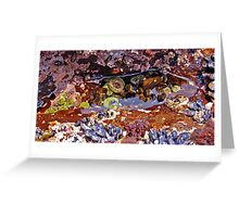 Tidal Pool Wonder Greeting Card