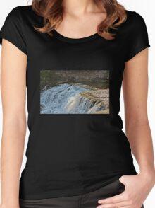 Summer Falls Women's Fitted Scoop T-Shirt