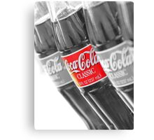 Coca-Cola Bottles Canvas Print