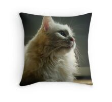 What About Me Throw Pillow