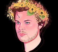 Spencer Flower Crown  by spencejsmith