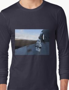 Dave Stormtrooper  Iceland Plane Long Sleeve T-Shirt
