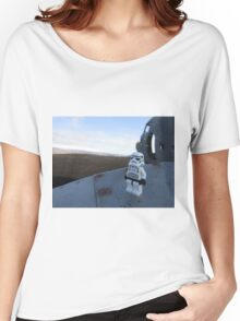 Dave Stormtrooper  Iceland Plane Women's Relaxed Fit T-Shirt
