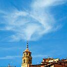 Devine cloud, Albarracin, Aragon, Spain by Andrew Jones
