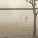 winter soccer by Nikolay Semyonov