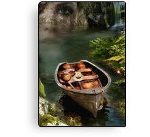Memories of the Old Lake - Version 2 Canvas Print