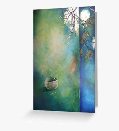 Receptive to love Greeting Card