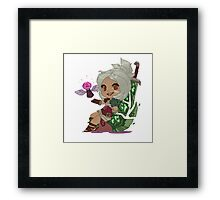 Riven chibi - League of Legends Framed Print