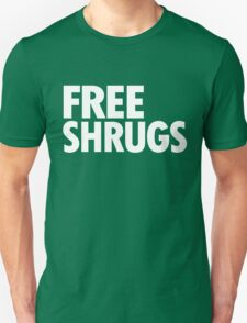 Free Shrugs - White T-Shirt