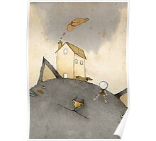 Cat's House Poster