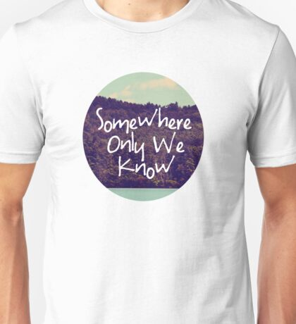 Somewhere Unisex T-Shirt