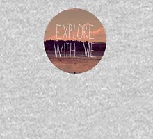 Explore With Me Womens Fitted T-Shirt