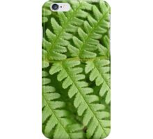 Fern spine iPhone Case/Skin