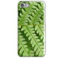 Fern spine iPhone Case/Skin