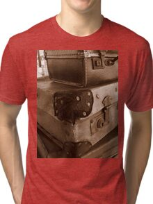 on the case! Tri-blend T-Shirt