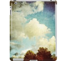Two Trees and Clouds iPad Case/Skin