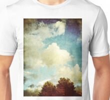 Two Trees and Clouds Unisex T-Shirt