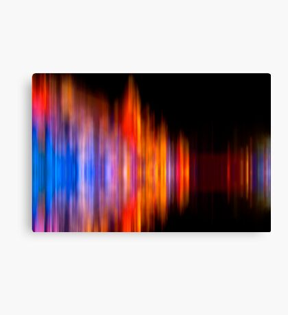 Equalizer Dreaming Canvas Print