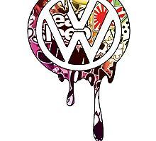 VW Paint Drip by LaurennJadee